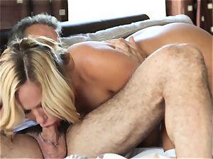 super-hot platinum-blonde wifey Olivia Austin The Key Sn four