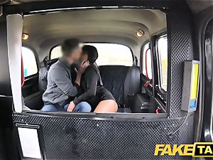 faux taxi jummy red-hot brown-haired luvs Czech pecker