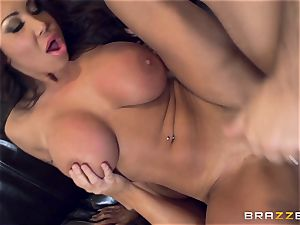 Sybil Stallone and her buddy playing with Keiran Lee and his huge stiffy